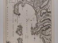 Carte fort brégançon - Hyères - document ancien